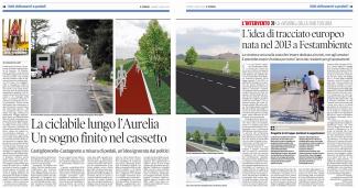 07 agosto: la ciclabile lungol'Aurelia