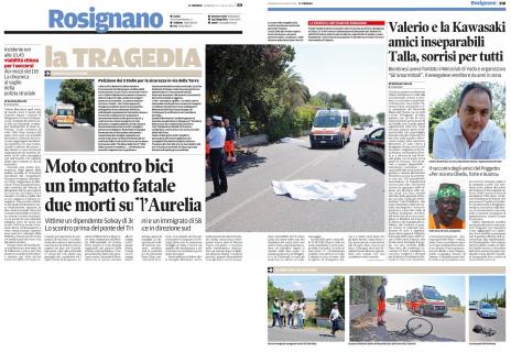 2016.07.10 - scontro aurelia Rosignano
